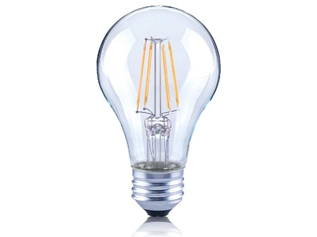 LED E27 燈絲燈泡  6.5W(黃光)