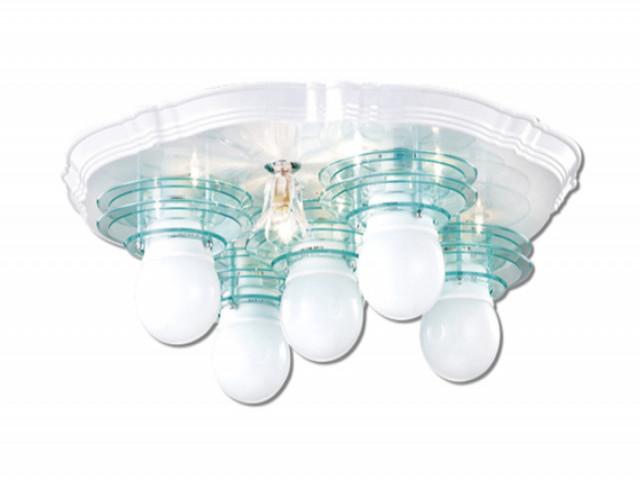 半吸頂燈(V-4504)